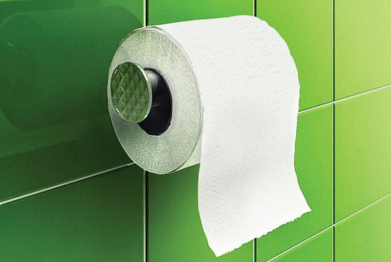 Пример туалетной бумаги для септика