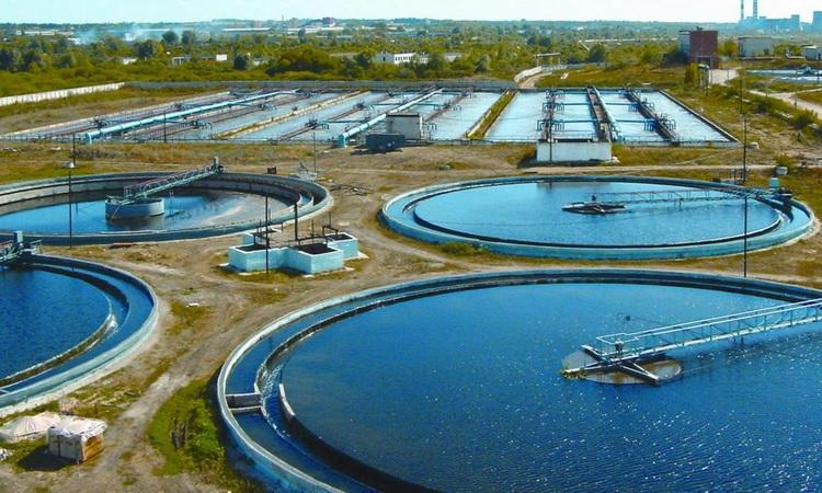 Пример промышленных очистных сооружений
