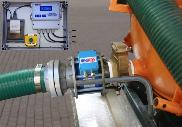 Расходометр для учета сточных вод