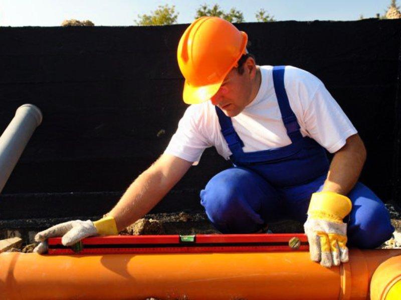 Проведение ремонта системы канализации