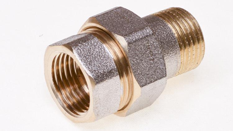 Пример резьбового соединения для труб
