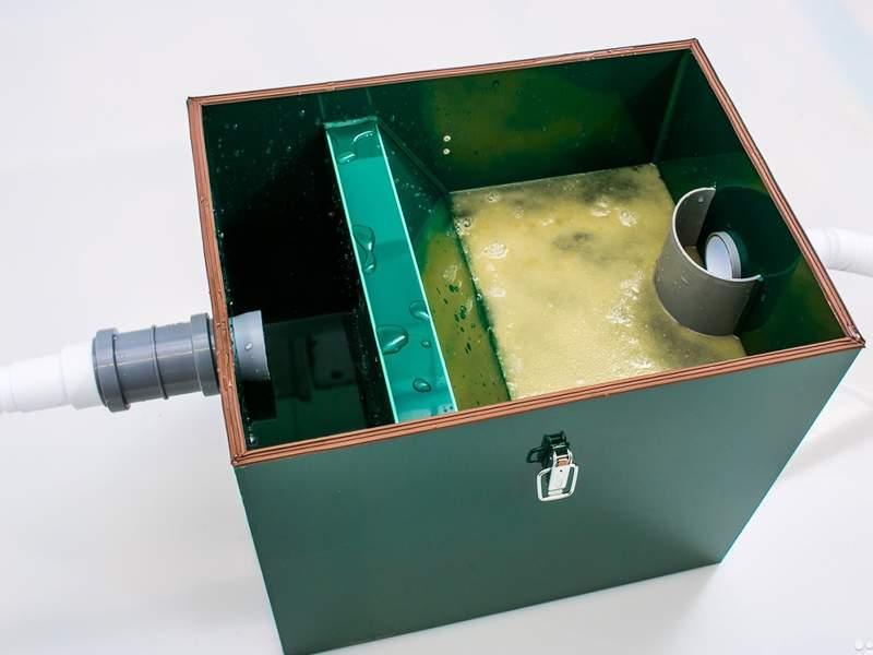 Жироуловитель для системы канализации